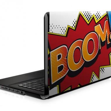 Boom Comic para Portatil adhesivo decorativo ambiente