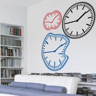 vinilo decorativo Reloj Redondo