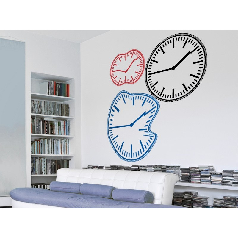 Vinilo reloj redondo - Reloj vinilo pared ...