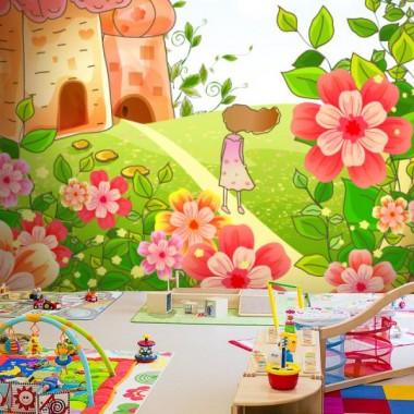 Fotomural Infantil Paisaje imagen vinilo decorativo