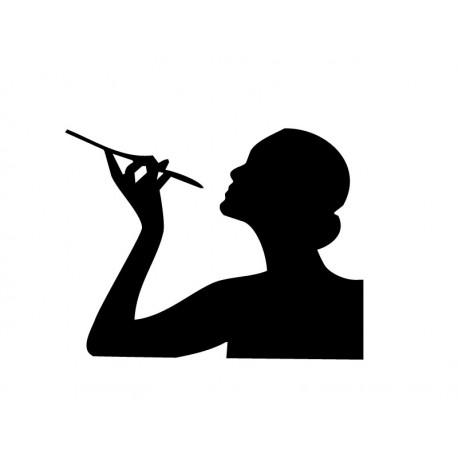 Mujer Fumando producto vinilos