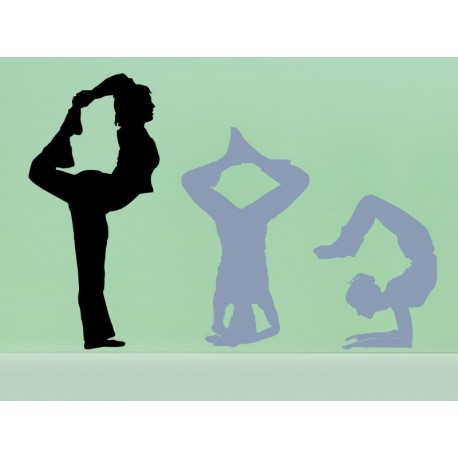 vinilo decorativo Yoga Postura III