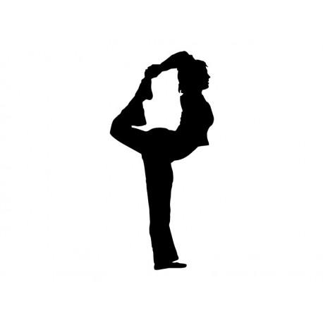pegatina decorativa Yoga Postura III