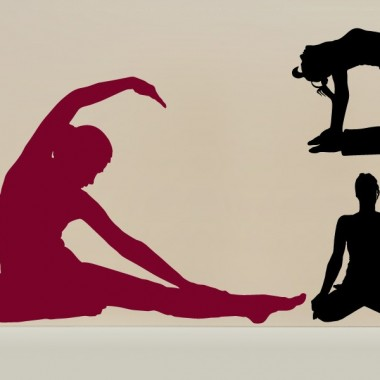 Yoga Postura VI producto vinilos