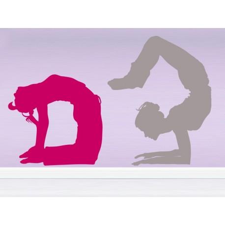 adhesivo decorativo Yoga Postura VII