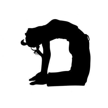 vinilos imagen producto Yoga Postura VII