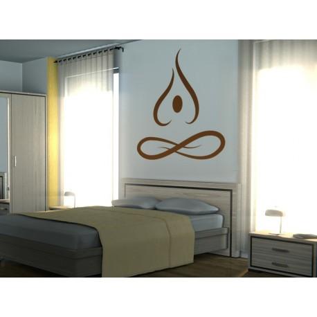 Yoga Motivo II adhesivo decorativo ambiente