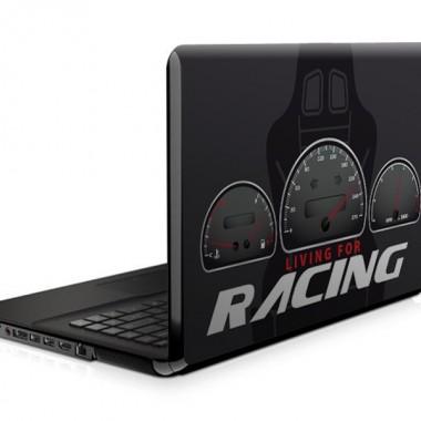Racing para Portatil imagen vinilo decorativo