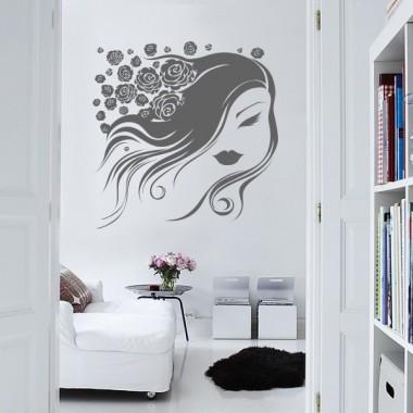 """Ninfa """"Coralina"""" decoración con vinilo"""