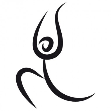 pegatina decorativa Yoga Motivo III