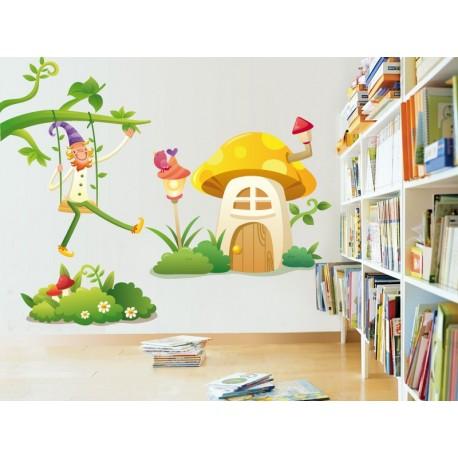 vinilos imagen producto Casa II Colección Alfy
