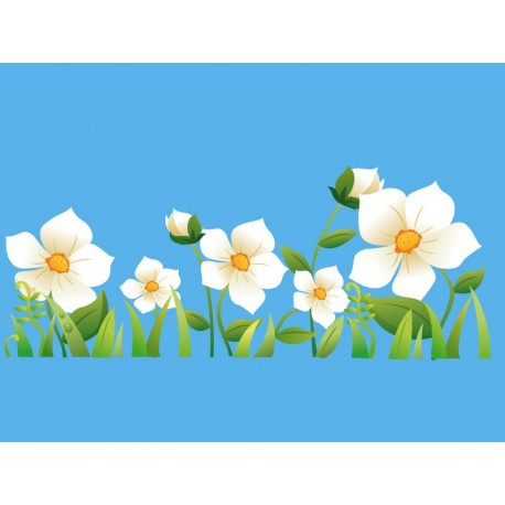 vinilos imagen producto Flores Colección Alfy