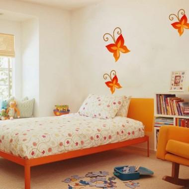 vinilo decorativo Mariposa Naranja Colección Alfy