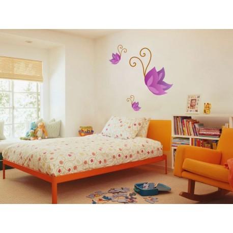vinilos imagen producto Mariposa Morada Colección Alfy