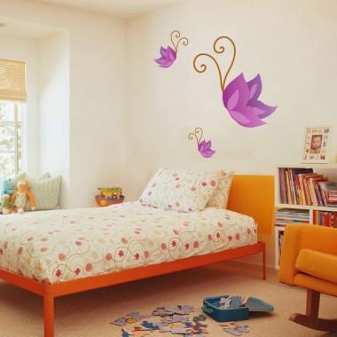 adhesivo decorativo Mariposa Morada Colección Alfy