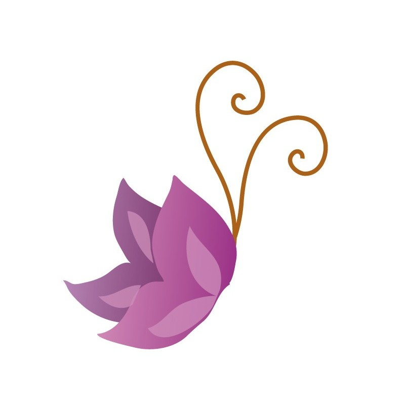 Pin mariposas moradas on pinterest for Vinilos mariposas