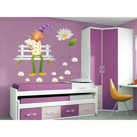 Margaritas III Colección Alfy imagen vinilo decorativo