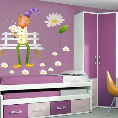 Margaritas III Colección Alfy adhesivo decorativo ambiente