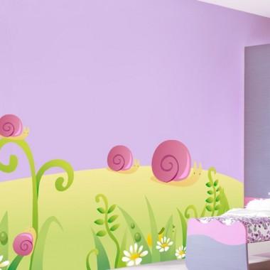 Caracol Rosa Colección Alfy adhesivo decorativo ambiente