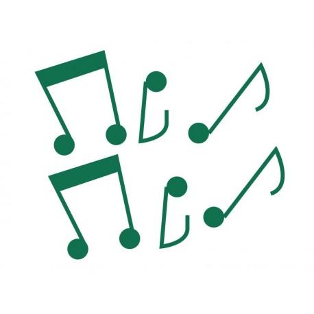 pegatina decorativa Notas Musicales Colección Alfy
