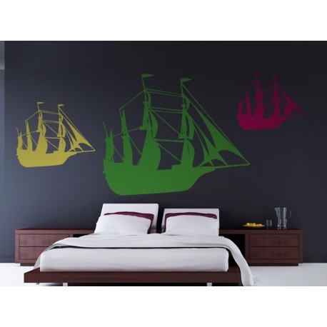 Barco Motivo II producto vinilos