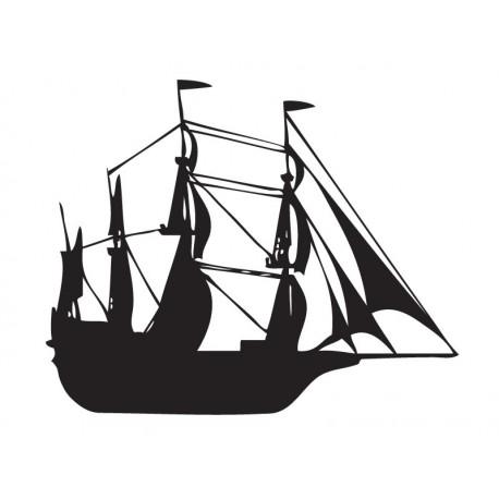 vinilo decorativo Barco Motivo II