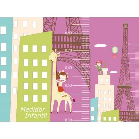 pegatina decorativa Medidor París