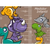 Medidor Dinosaurios