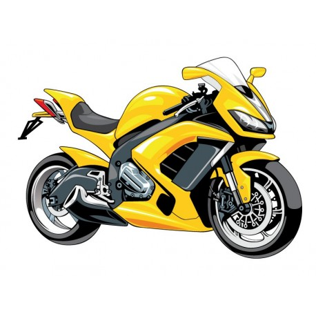 Moto Carreras producto vinilos