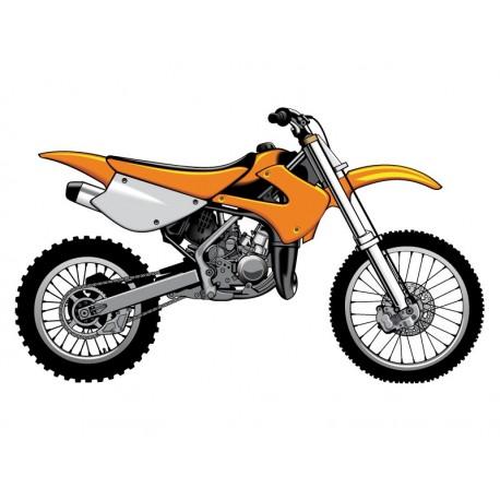 vinilos imagen producto Moto de Cross