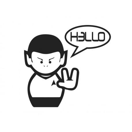 Star Trek Hello producto vinilos