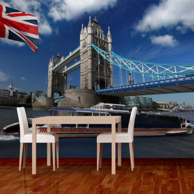 vinilo decorativo Fotomural Navegando en Londres