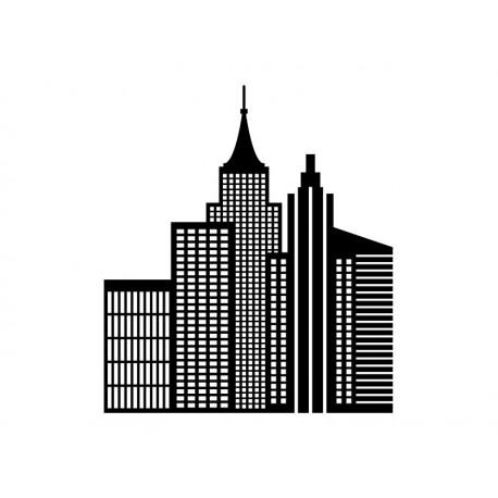 vinilos imagen producto Rascacielos Comic