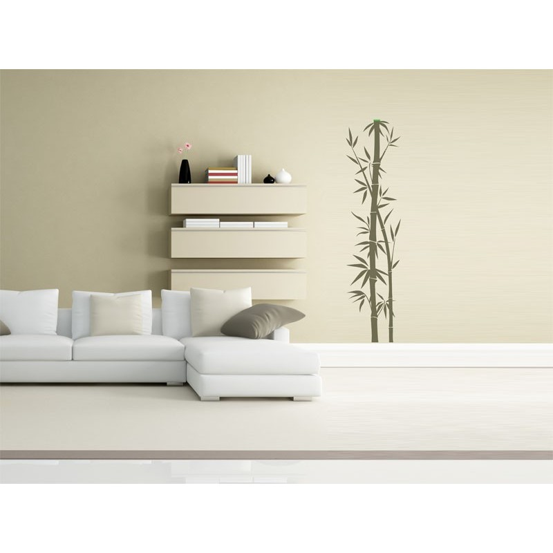 Vinilo bamb decoraci n para pared - Decoracion vinilo pared ...