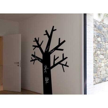 Pizarra Árbol decoración con vinilo