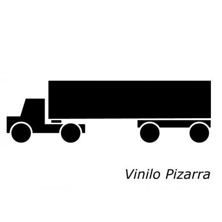Pizarra Camión adhesivo decorativo ambiente