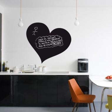 vinilo decorativo Pizarra Corazón