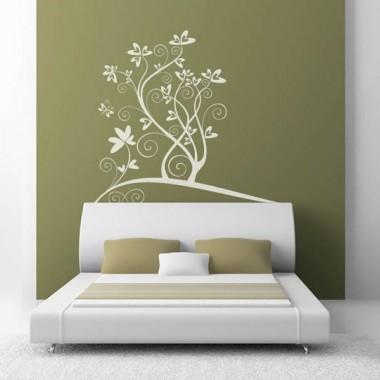 adhesivo decorativo Corazones Flor