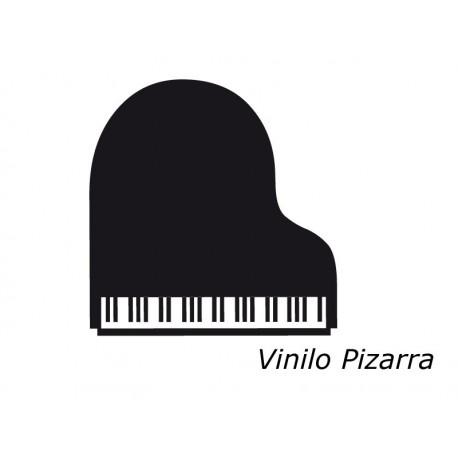 Pizarra Piano decoración con vinilo