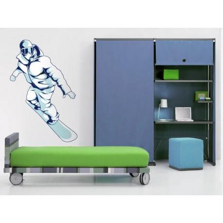 vinilos imagen producto Snowboard Pegatina