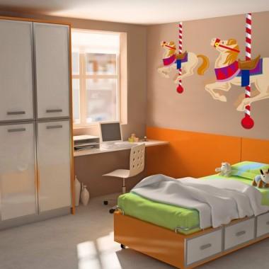 Caballito Carrusel Pegatina imagen vinilo decorativo