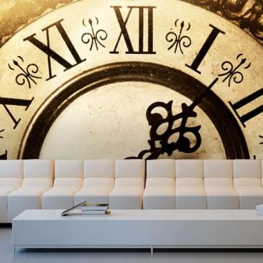 Fotomural Reloj Vintage producto vinilos