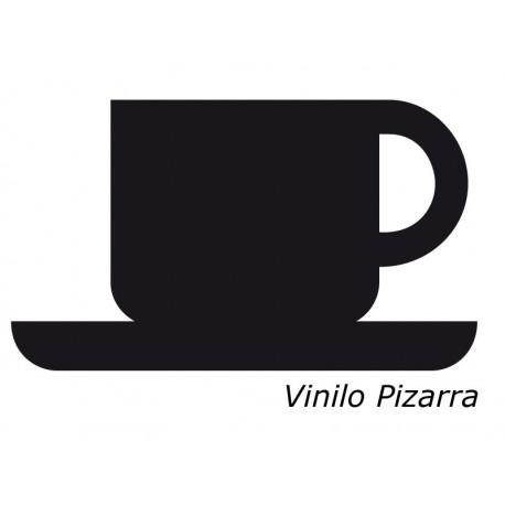 Pizarra Café decoración con vinilo