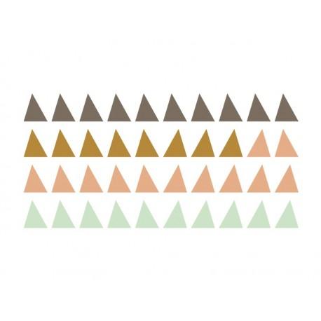 Triángulos Colores imagen vista previa