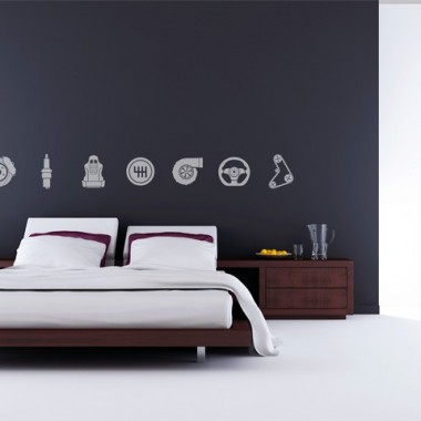 motor decoracin pared decoracin con vinilo