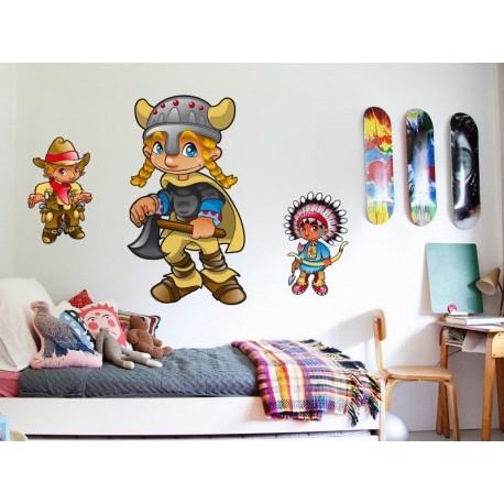 Juan el Vikingo imagen vinilo decorativo