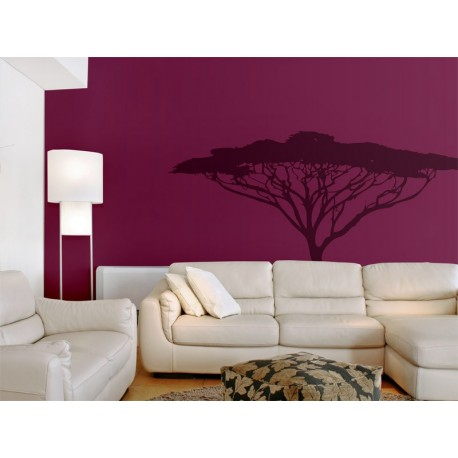 pegatina pared Árbol África