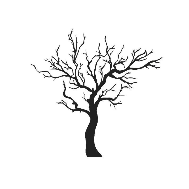 Vinilo árbol Sin Hojas
