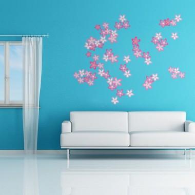 adhesivo decorativo Florecillas Composición
