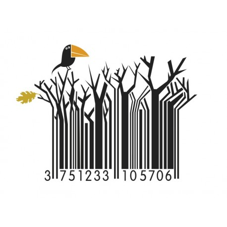vinilos imagen producto Natura Code